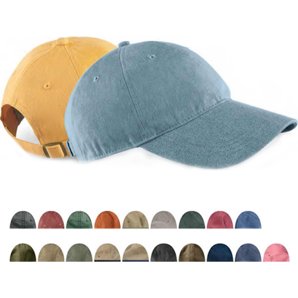 Pigment Dyed Baseball Cap. Request a Sample f6c1aa33355e