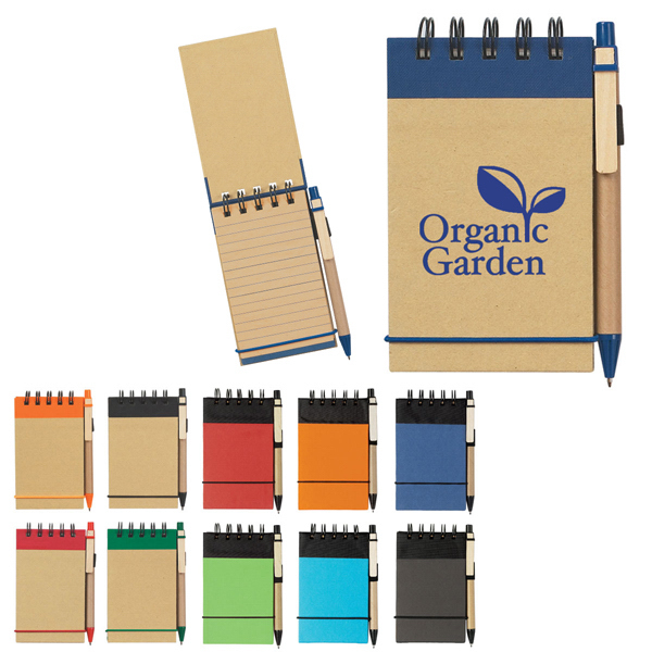 Eco-Friendly Spiral Jotter & Pen