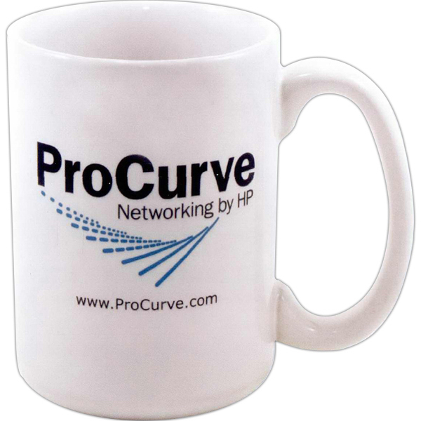 Direct screen stoneware CEO mug - 15oz