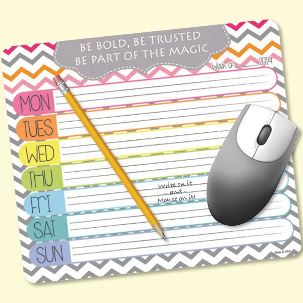 MousePaper(R) 24 Page - Recycled Note Paper Mouse Pad