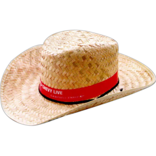 Straw Kid s Sheriff Hat with Imprinted Band - GOimprints f1bc0154d414