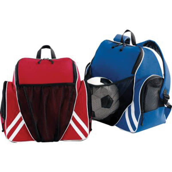 Tri - color ball backpack