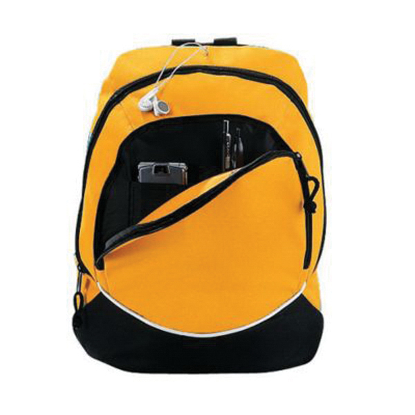 Small tri color backpack