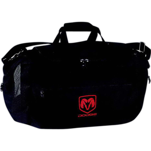 Sports Bag with Mesh Pockets