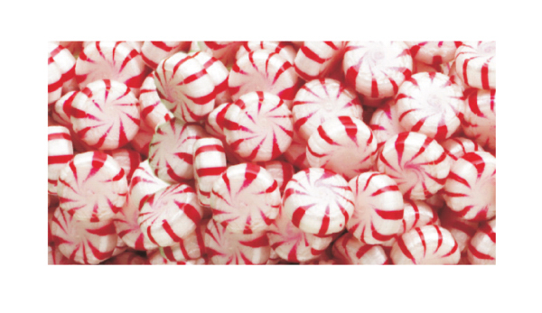 Red Peppermint Starlites Hard Candy
