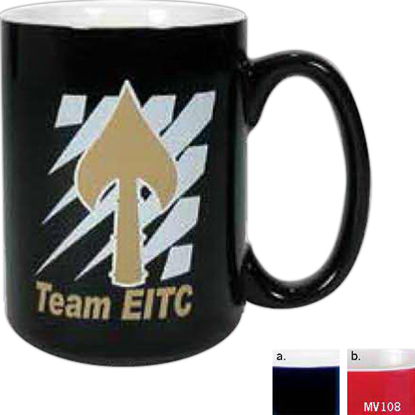 15 oz Two Tone El Grande Mug