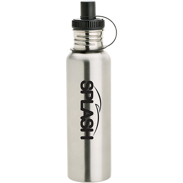 Stainless Bottle with Drink-thru Cap