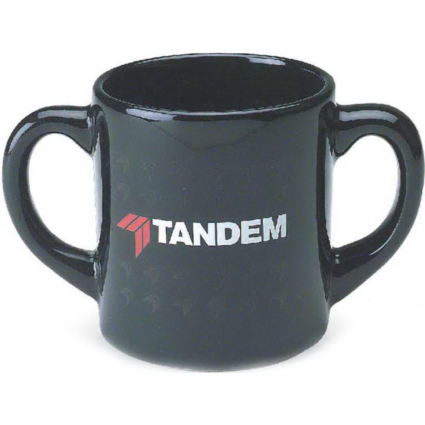 10 oz. Double Handle Mug