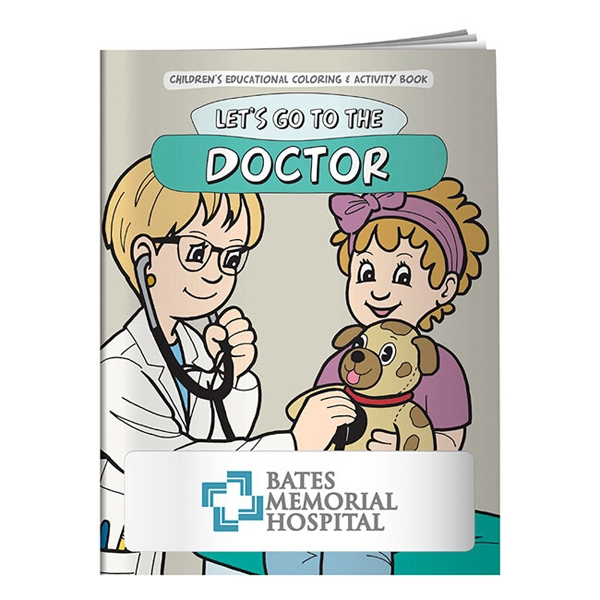 Prime Coloring Book: Let's Go to the Doctor