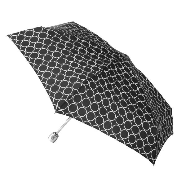 Totes (R) Mini Auto Open/Close Umbrella With Purse case