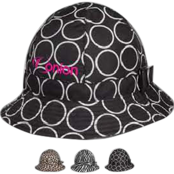 Totes (R) Fashion Printed Bucket Rain Hat