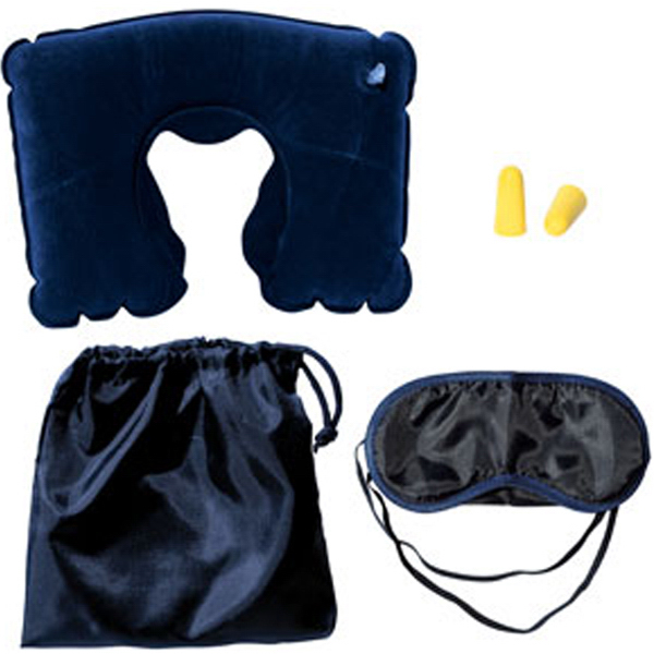 Captain Travel Kit with Neck Pillow