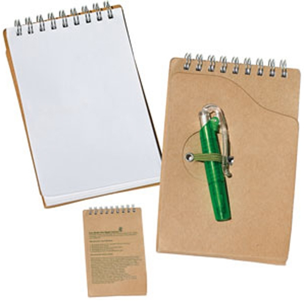 Elm - Eco Aware Recycled Jotter with Pen