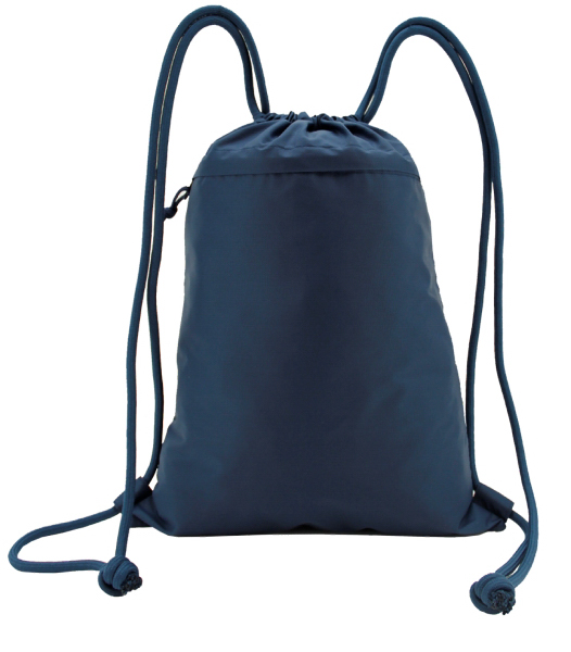 Heavy Duty Light Weight Drawstring Backpack w/ Front ...