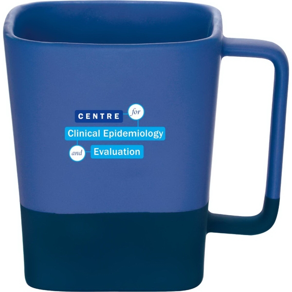 Color Step Ceramic Mug 14oz