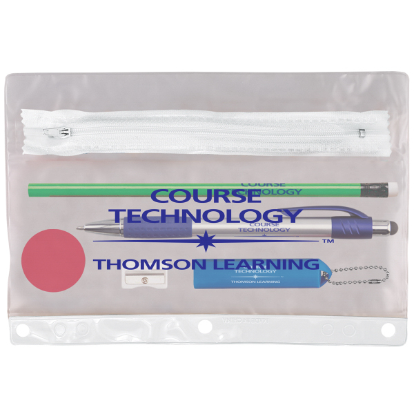 Tech Notebook Mate School Kit with Pencil Pouch