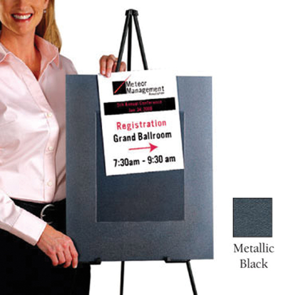 Slip In Sign Holder 10-Pack In Metallic Colors