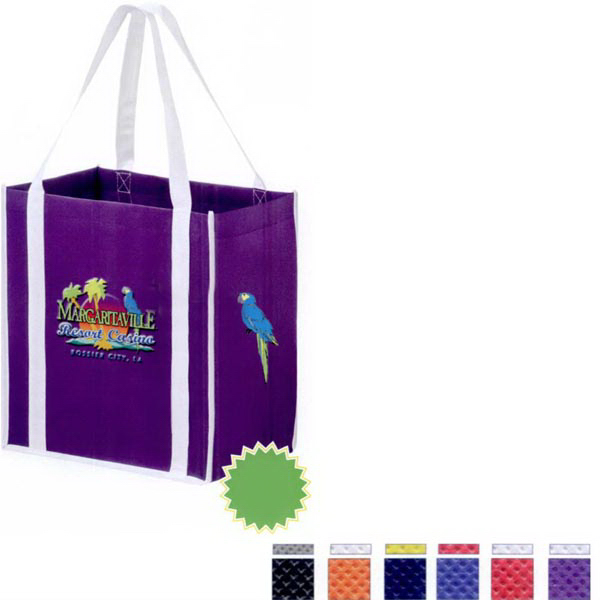 Two-Tone Tote Bag with Insert - 3D Color Evolution