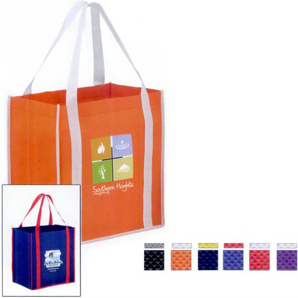 """Two-Tone Tote with 22"""" Handles - Color Evolution"""