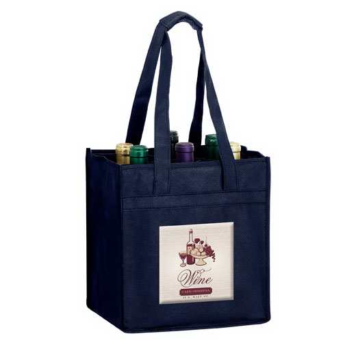 6 Bottle Bag with Velcro (R) closure - 3D Color Evolution