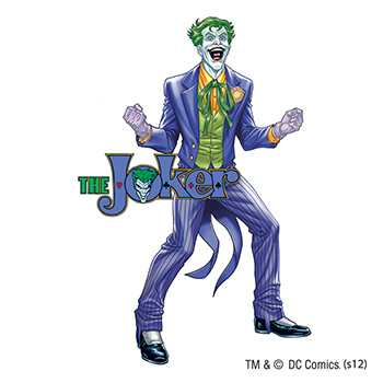 Warner Brothers: Joker Temporary Tattoo
