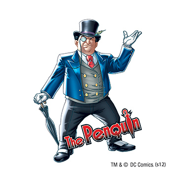 Warner Brothers: Penguin  Temporary Tattoo