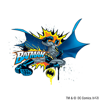 Warner Brothers: Batman in Action Temporary Tattoo