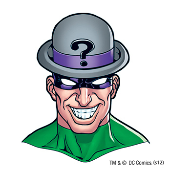 Warner Brothers: Riddler Temporary Tattoo