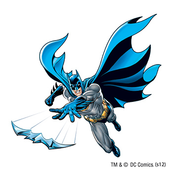 Warner Brothers: Batarang Temporary Tattoo