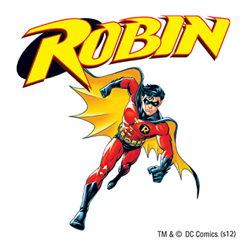 Warner Brothers: Robin Temporary Tattoo