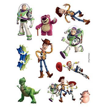 Toy Story Assortment of Temporary Tattoos