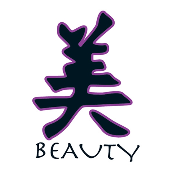 Kanji Beauty Temporary Tattoo