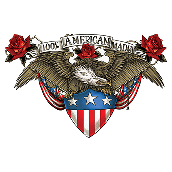 100% American Made Large Freedom Temporary Tattoo