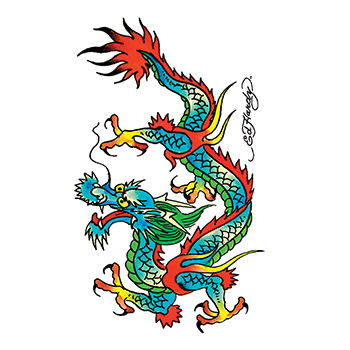 Ed Hardy Dragon Temporary Tattoo