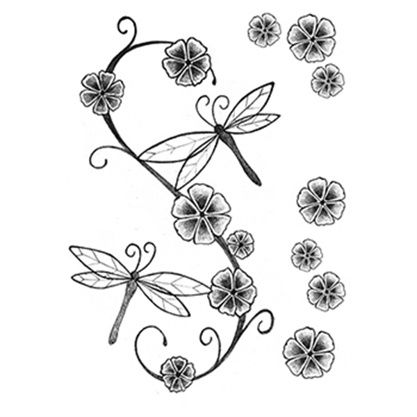 Fashion: Soft and Delicate Temporary Tattoo Set