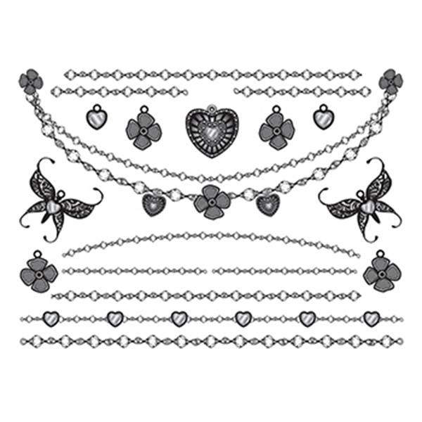 Innocence Temporary Tattoo Jewelry Set