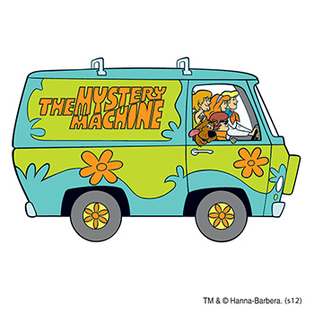 Warner Brothers: Scooby in the Van Temporary Tattoo