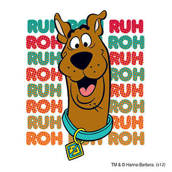 Warner Brothers: Scooby Ruh Roh Temporary Tattoo