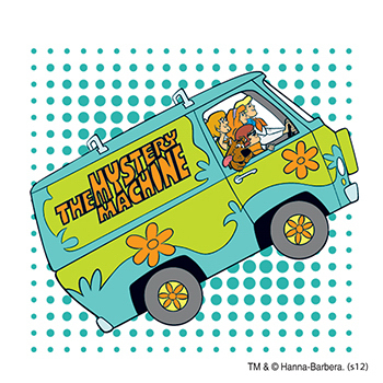 Warner Brothers: Scooby-Doo Mystery Machine Temporary Tattoo