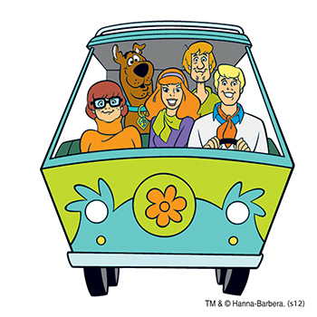 Warner Brothers: Scooby's Gang Temporary Tattoo