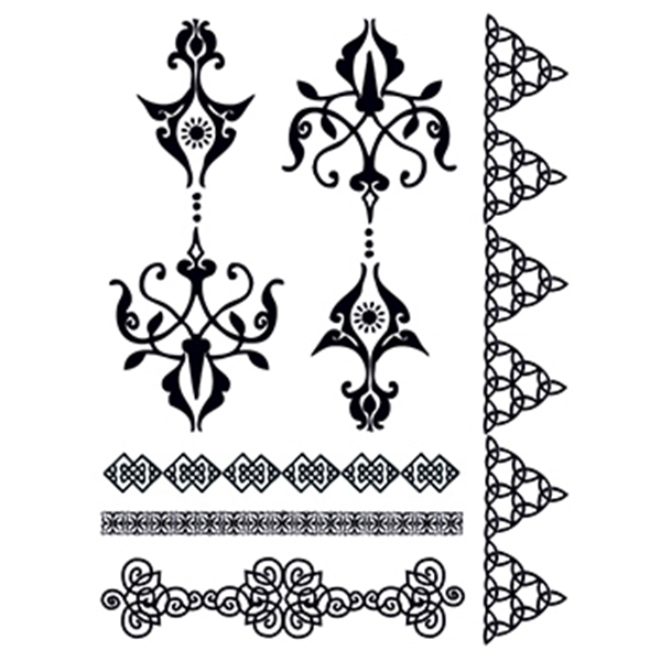 Henna: Aspirational Temporary Tattoo Set