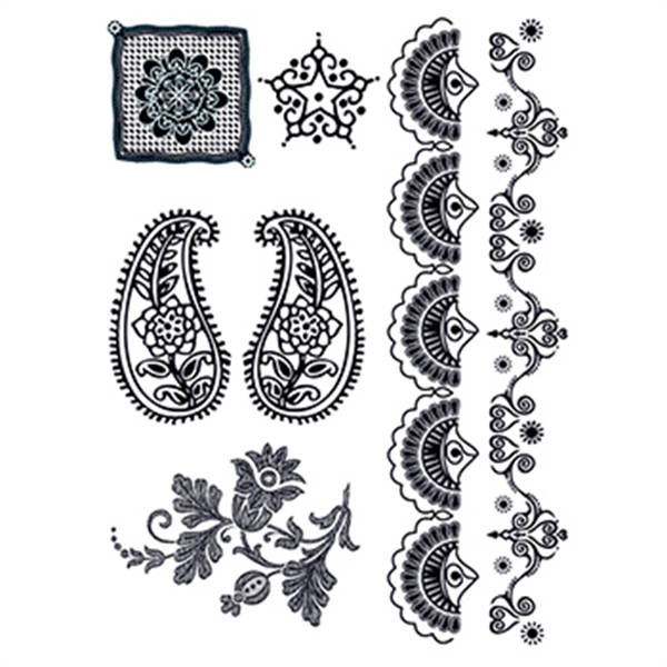 Henna: Midnight Temporary Tattoo Set