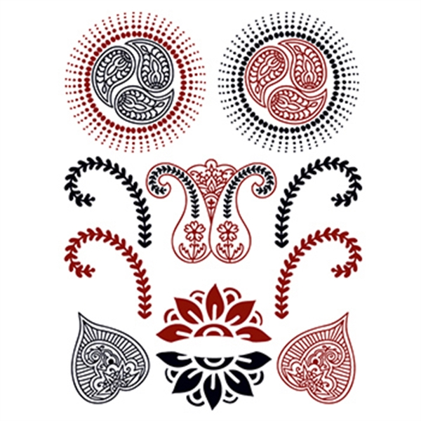 Henna: Lavish Temporary Tattoo Set