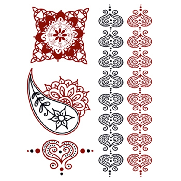 Henna: Romance Temporary Tattoo Set