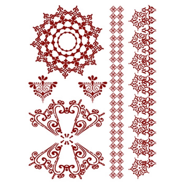 Henna: Amazon Temporary Tattoo Set