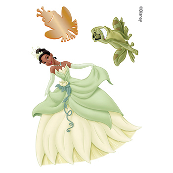 The Princess and the Frog Temporary Tattoos