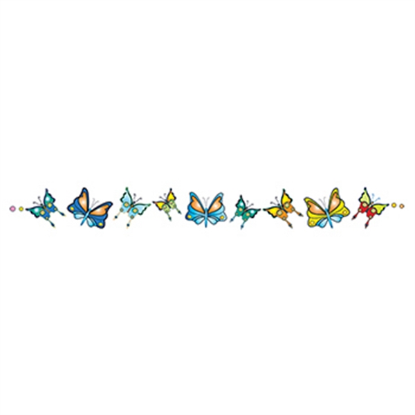 Band of Butterflies Temporary Tattoo