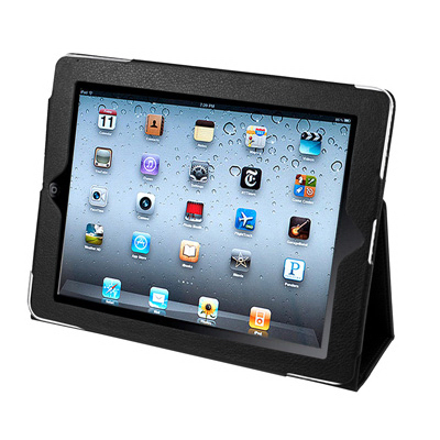 Faux Leather Case for iPAD 2