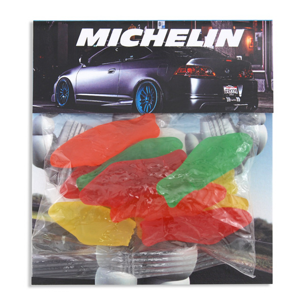 Large Billboard Full Color Header Candy Bag Swedish Fish Goimprints