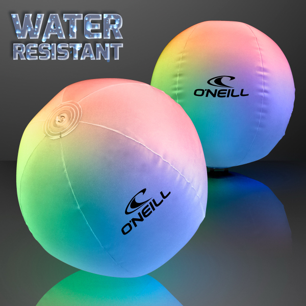 Light Up Beach Ball With Color Change Leds 60 Day